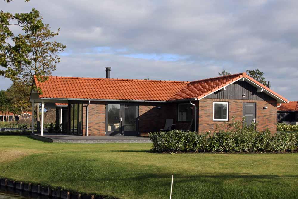 Chalet steenstrips maatwerk mobiele bungalow