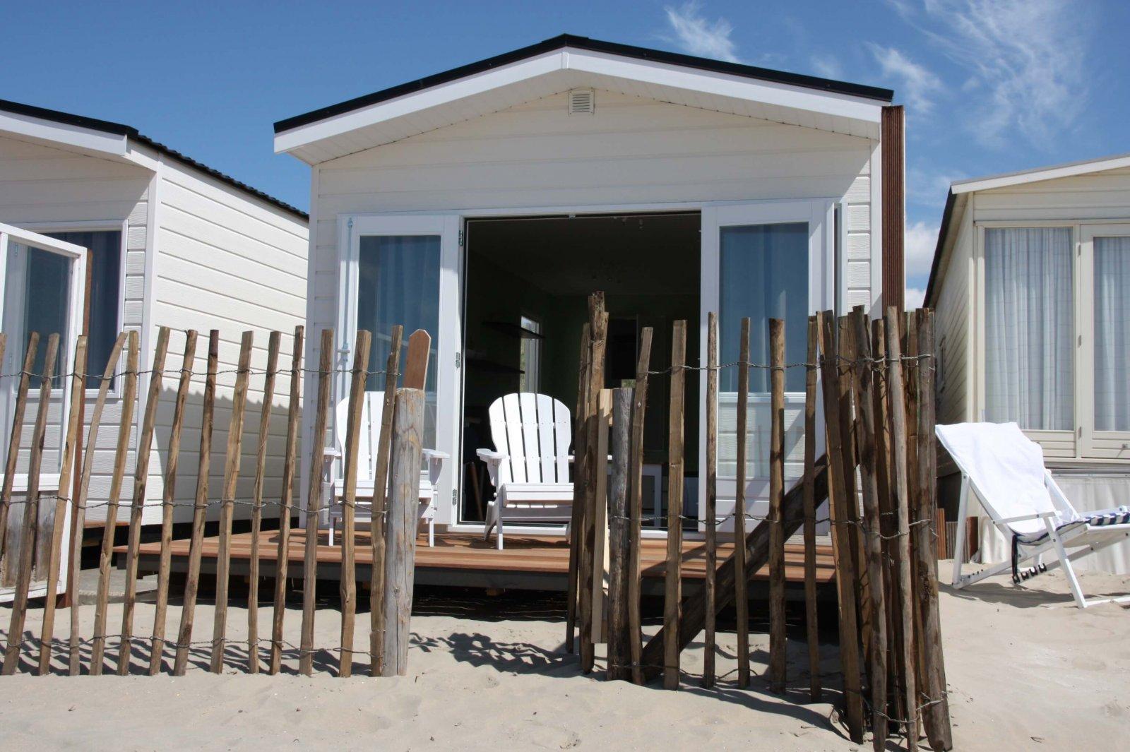 Strandhaus Strandhauschen Strand Hause